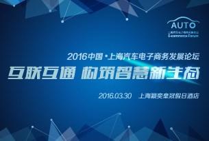 2016中国-上海汽车电子商务发展论坛