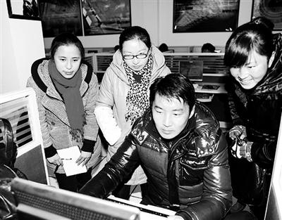 县级/浙江苍南龙港镇第三小学的数字图书馆。...