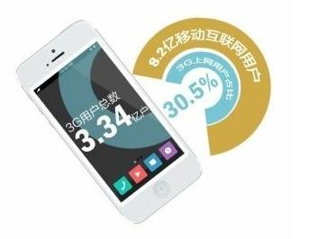 移动互联网用户达到8.2亿 3G用户达3.34亿