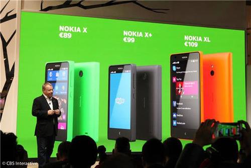 诺基亚微软各退一步:用廉价安卓机啃市场