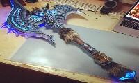 真会玩!玩家自制的6把魔兽经典武器