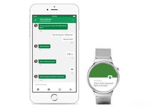 谷歌宣布Android Wear今日起支持iOS设备