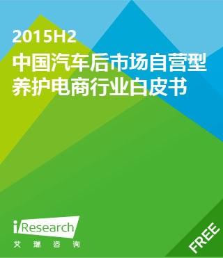 2015H2中国汽车后市场自营型养护电商行业白皮书
