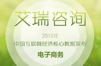 2015年度电子商务市场核心数据发布