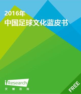 2016年中国足球文化蓝皮书