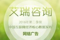 2016年第二季度网络广告核心数据发布