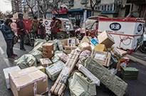 外媒:中国快递员工作累薪水低 4成一年内会转行