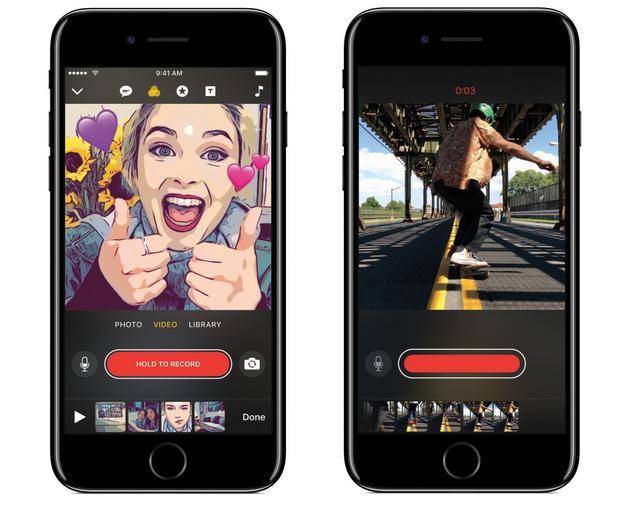 苹果推出的移动端视频制作应用Clip