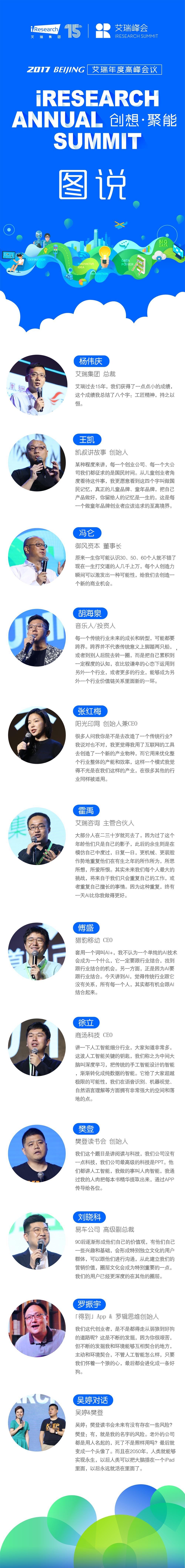 """一张图带你解读""""2017艾瑞(北京)峰会"""