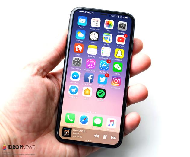 iPhone 8假想图