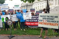 谷歌、亚马逊等8万个网站抗议美政府推翻网络中立原则