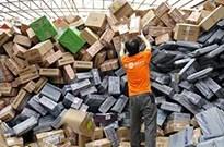1天1亿件 中国快递业务市场规模世界第一