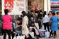 用手机不能支付和叫车 中国游客在日本感到很不便