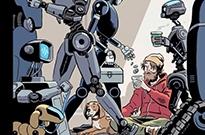 《纽约客》封面漫画狂批自动化:人类向机器人乞讨或成真
