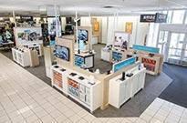 亚马逊将实体店开到了百货商场,套路跟京东之家有点像