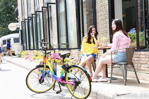 罗海元曾号称要用七彩单车终结共享单车的颜色大战