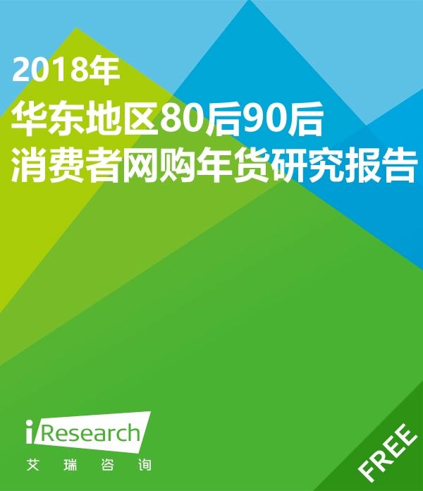 2018年华东地区80后90后消费者网购年货调研报告