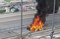 【午报】特斯拉在瑞士撞上隔离带翻车起火 京东宣布减员50%