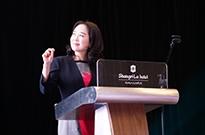 """敦煌网CEO出席APEC吉隆坡会议,""""大象与鲤鱼""""理论阐述中小企业独特价值"""