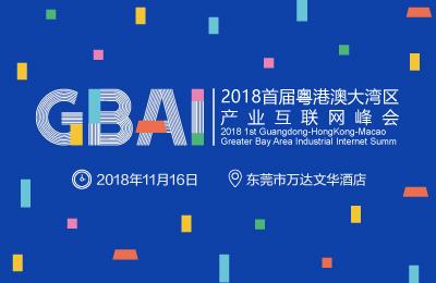 2018首届粤港澳大湾区产业互联网峰会