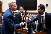 谷歌CEO首次出席听证会:议员指责谷歌存偏见