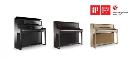 Roland 罗兰LX700系列电钢琴斩获两项国际设计大奖