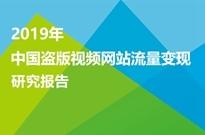 2019年中国盗版视频网站流量变现研究报告