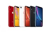 �O果2019款iPhone XR�⑿略�煞N�色:�G色和薰衣草色