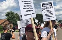 亚马逊购物节首日遇尴尬:大批员工罢工抗议