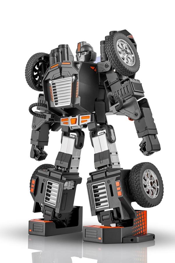 乐森星际特工亮相北京世界机器人大会,抢占C位成全场焦点插图(5)