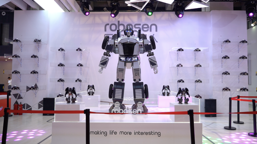 乐森星际特工亮相北京世界机器人大会,抢占C位成全场焦点插图(3)