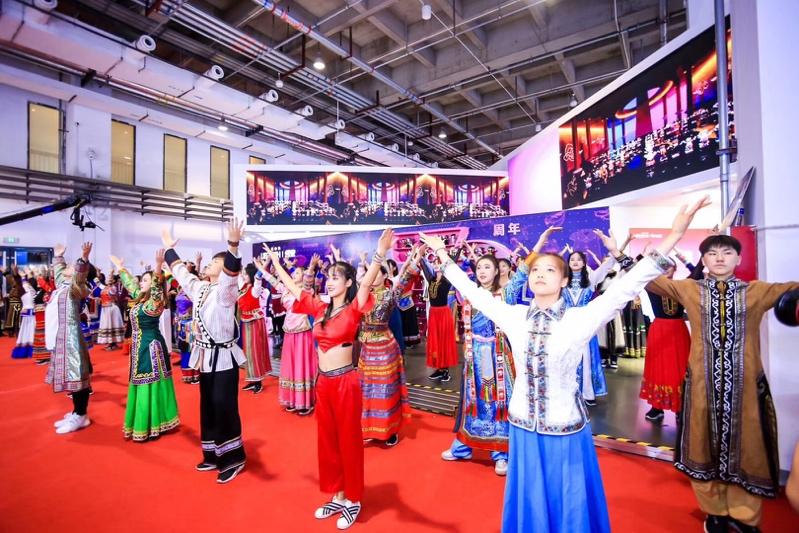 乐森星际特工亮相北京世界机器人大会,抢占C位成全场焦点插图(2)