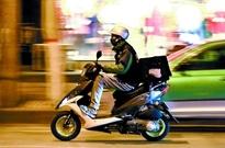 外卖骑手:只要有订单就不怕熬夜