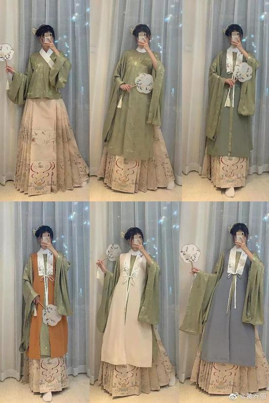 汉服博主黄乔恩,也拥有自己的女装店铺