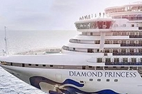 日本隔离邮轮乘客今日开始下船 首批放行约500人