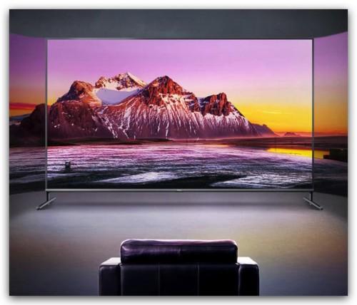 TCL大屏液晶电视机,带你畅爽私人影院!
