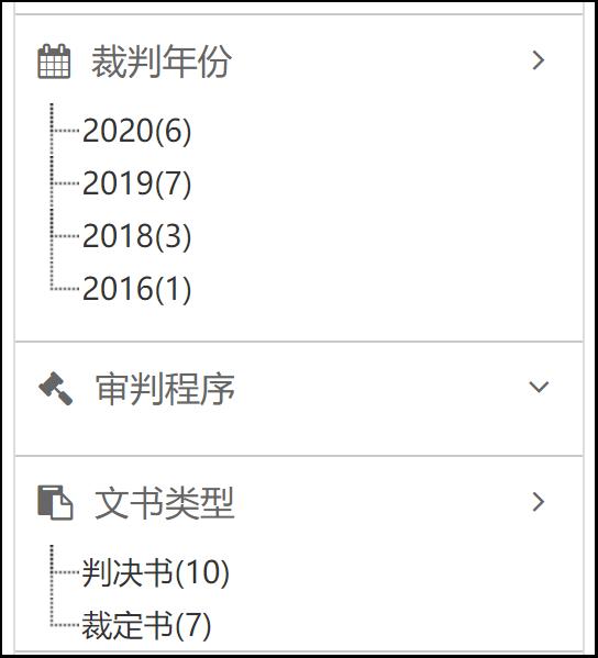 (在中国裁判文书网检索智臻公司后,所涉裁判文书为17份)