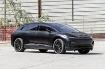 法拉第未来一辆原型电动汽车将拍卖 车内电线裸露