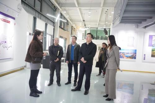 区委副书记莅临德阳网易联合创新中心调研企业发展现状