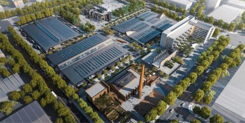 """晶泓科技LED光电玻璃闪耀首都副中心铜牛老厂,引领 """"蝶变""""未来"""