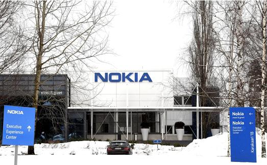 △图为诺基亚在芬兰埃斯波总部