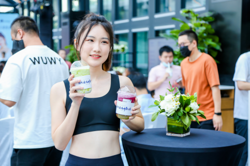 专为运动人士打造原创无奶盖鲜果茶,PINTEA×Keep品牌联合首发